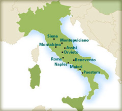 Cupertino Italy Map.Byron In Cupertino Andiamo Tours Italy Small Group Tours